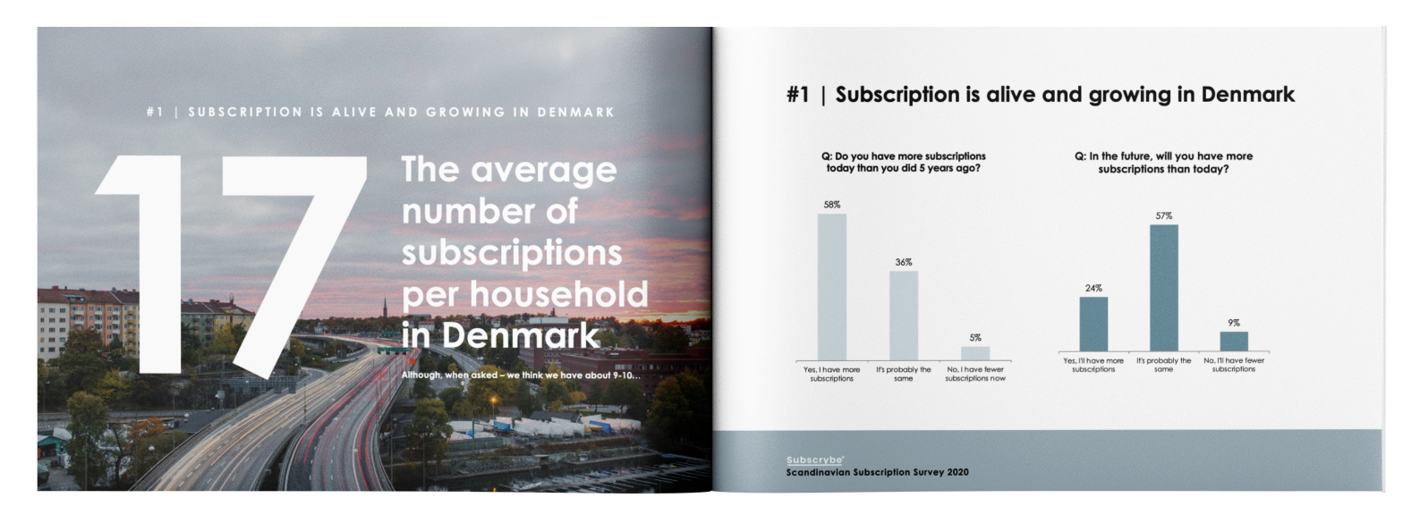 Scandinavian Subscription Survey rapport